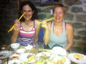 Vietnam travel with food